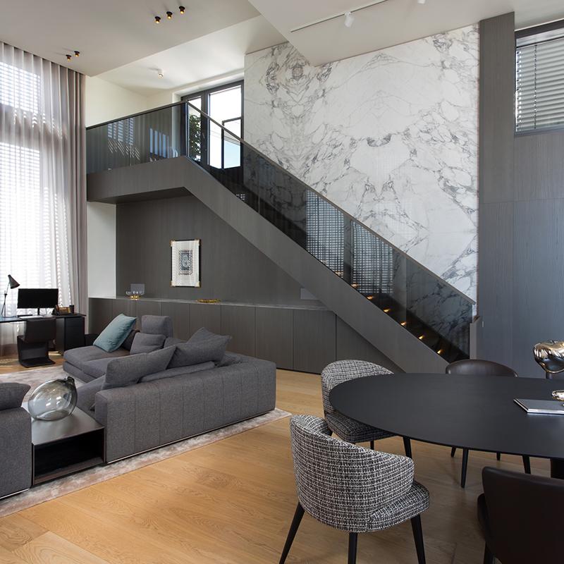 Interior concept f r st martin tower b rogeb ude cafeteria und konferenzr ume - Innenarchitektur frankfurt ...